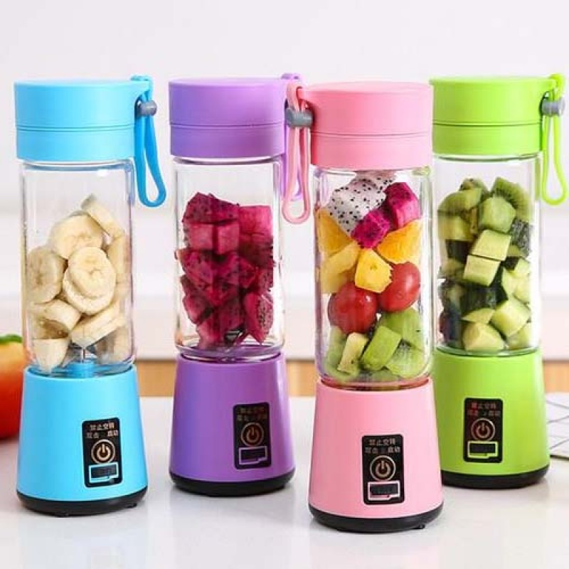 Portable Chargeable Travel Juicer Blender 6 Blade