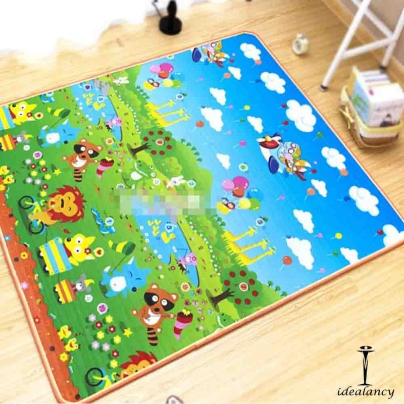 Soft Baby Play Mat Double Sided