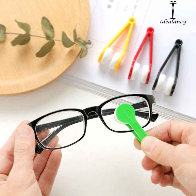 Mini Microfiber Eyewear Cleaning Brush 1Pcs