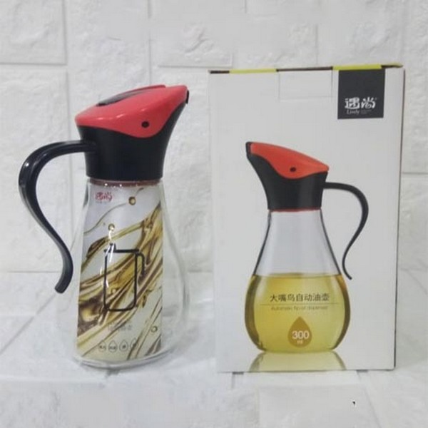 Glass Oil Jug 500 ML