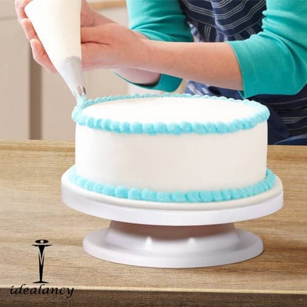 360 Rotating Cake Decorating Stand